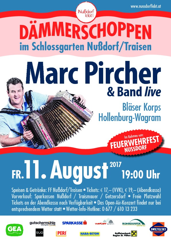 Marc Pircher Plakat